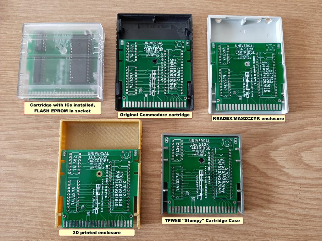 Cartridges in case